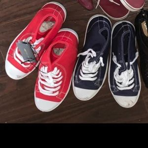 Forever 21 hi top converse style shoes
